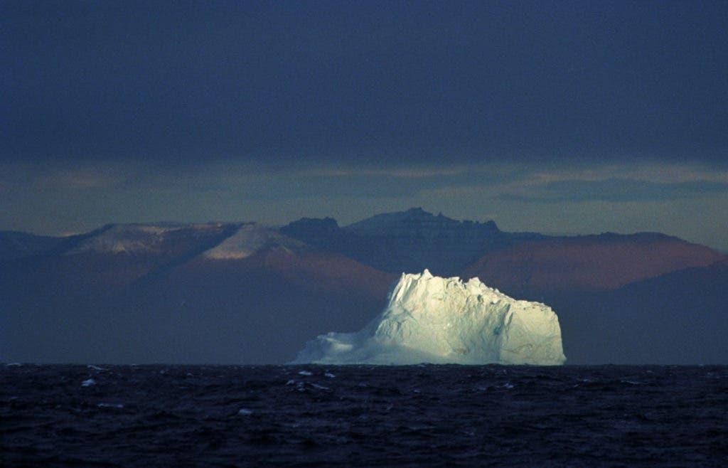 Greenland Sea Iceberg.