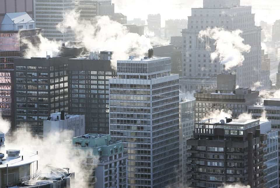 City building.
