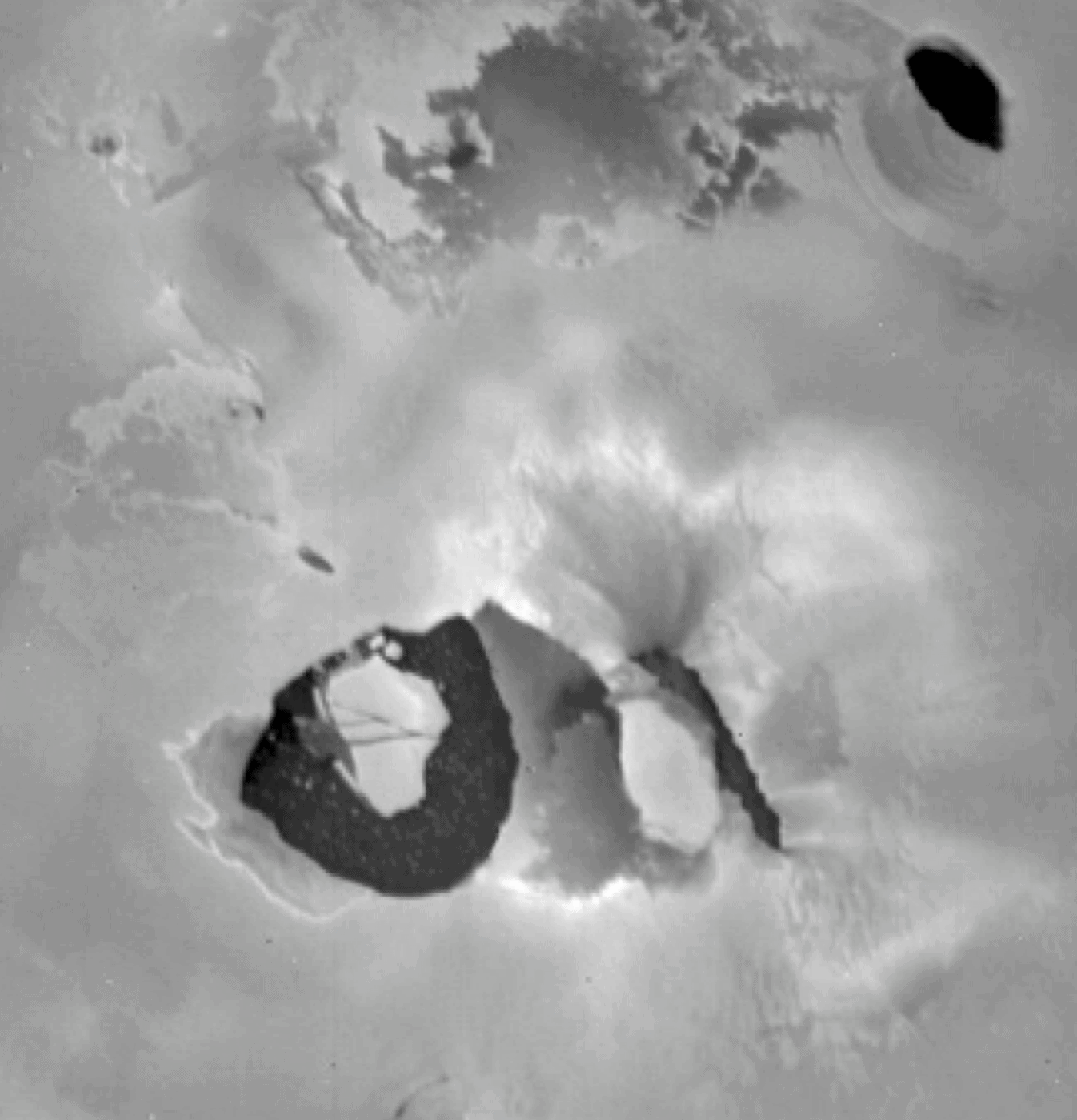 Loki volcano.