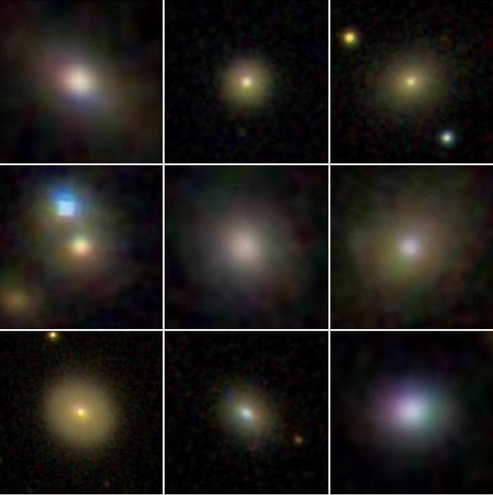 Dwarf galaxies hosting active galactic nuclei that have spatially extended outflows. (SDSS)