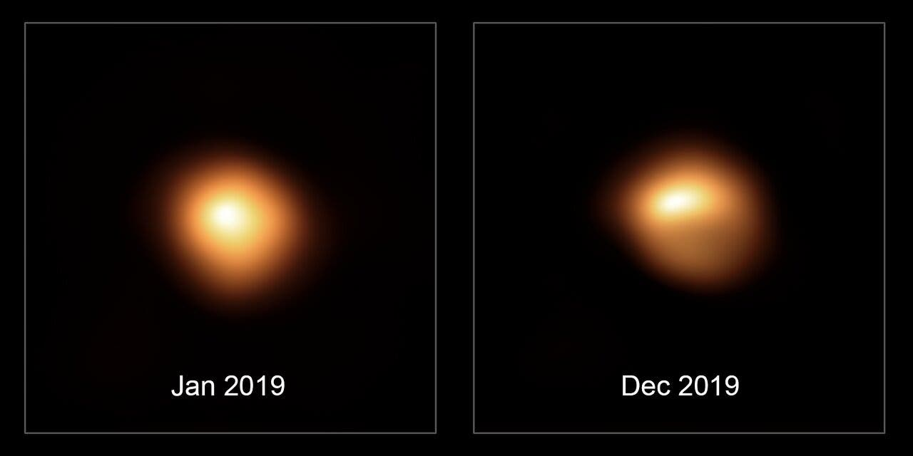 Betelgeuse is getting dimmer -- but will it explode soon?