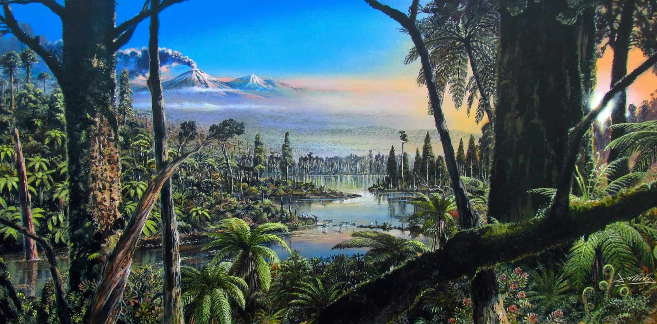 Scientists find evidence of ancient tropical rainforest in ...