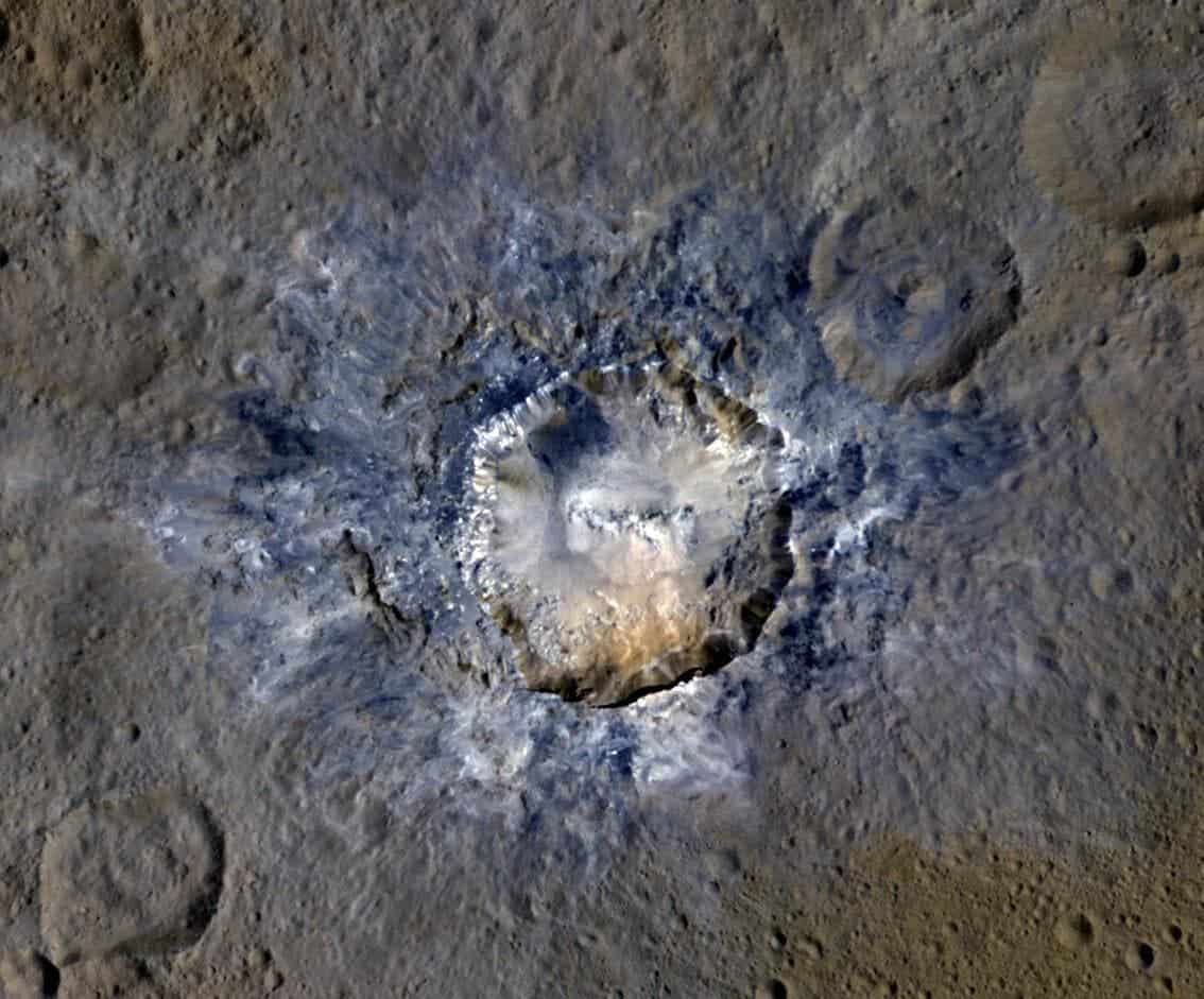 Dwarf planet Ceres is an ocean world with liquid water beneath the surface - ZME Science