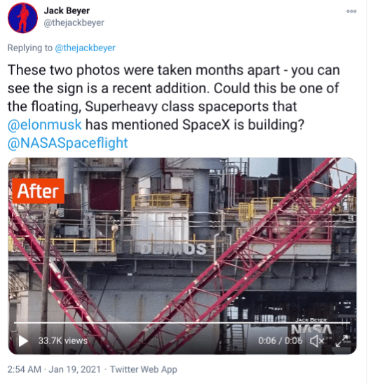SpaceX bought two oil platforms to transform them into launchpads - ZME Science