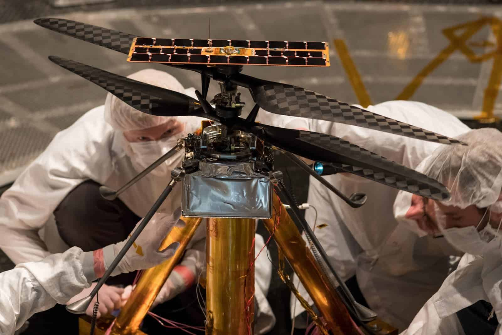 NASA's space helicopter is one month away from landing on Mars - ZME Science